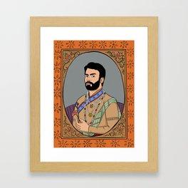 Fawad Khan Framed Art Print