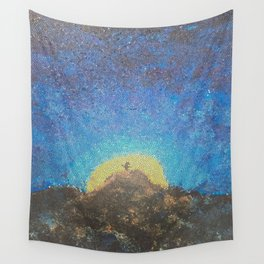 Sunny Sets' Wall Tapestry