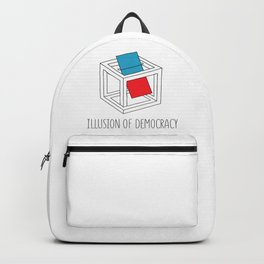 Illusion Of Democracy Backpack