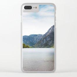 Lake Bohinj, Slovenia Clear iPhone Case