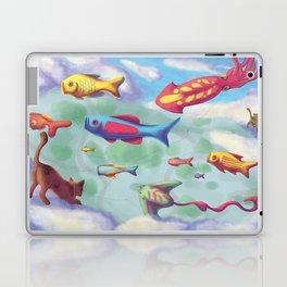 Cloud Cats Laptop & iPad Skin