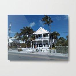 White house, Key west. Metal Print