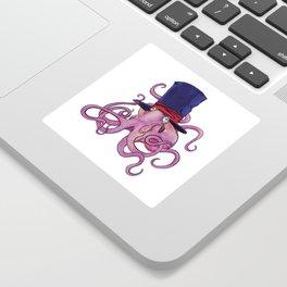 Octo-Dandy Sticker