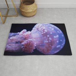 Baby Jellyfish (Underwater Photography) Rug