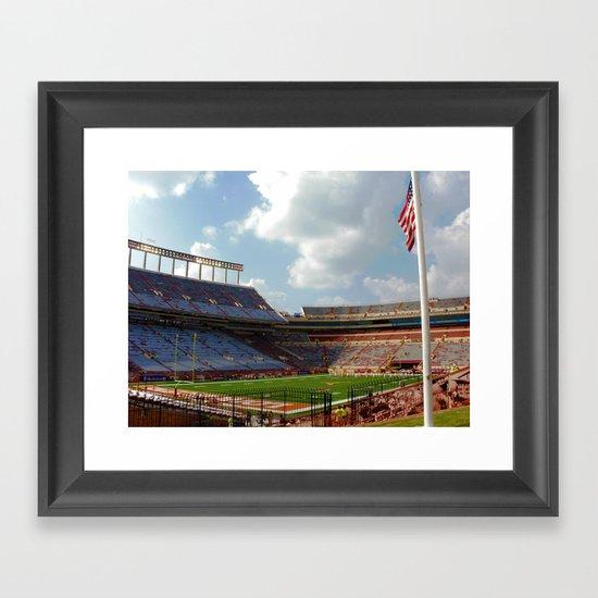 University of Texas Football Framed Art Print