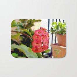Apulian flower Bath Mat