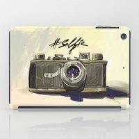 selfie iPad Cases featuring Selfie by kaiartem