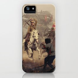 1920 - final charge iPhone Case