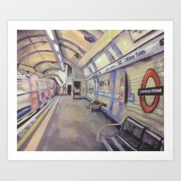 Camden Town Station Art Print