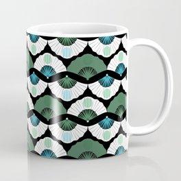 Green Vintage Coffee Mug