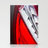 mercedes Stationery Cards featuring Mercedes-Benz SL 63 AMG Bi-Turbo Back Light by Mauricio Santana