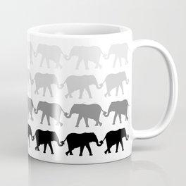 Circle of peace B/W Coffee Mug