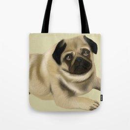 Doug the Pug Tote Bag