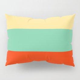 Retro Color Palettes Pillow Sham