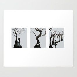 Trouble will find me Art Print