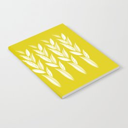 Growing Leaves: Golden Yellow  Notebook