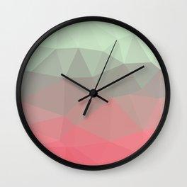 RASPBERRY MINT Wall Clock