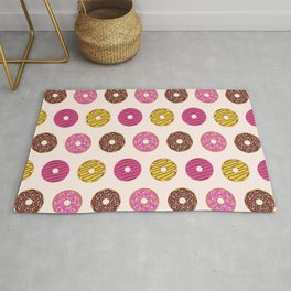 Sweet Donuts Pattern Rug