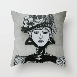 Chastity Throw Pillow