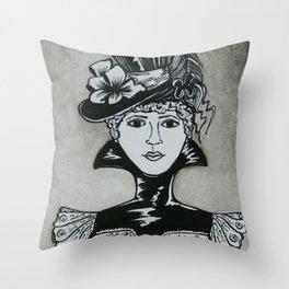 Chastity Throw Pillow
