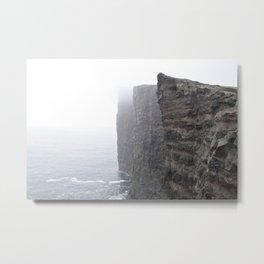 Cliffs of the Faroe Islands Metal Print