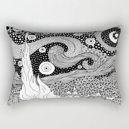 Van Gogh - Starry Night Rectangular Pillow