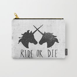 Ride or Die x Unicorns Carry-All Pouch