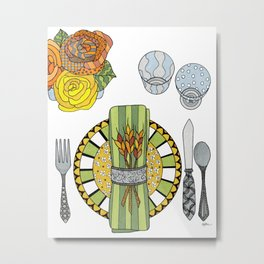 Thanksgiving Metal Print
