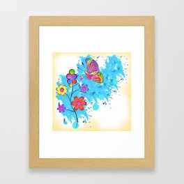 Season of Colors Framed Art Print