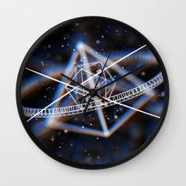Elements of Geometry Wall Clock