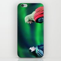 northern lights iPhone & iPod Skins featuring Northern Lights by LindaMarieAnson