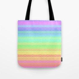 Freedom (pastel rainbow) Tote Bag