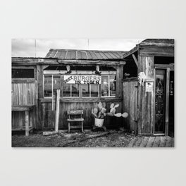 Best burgers in town Canvas Print