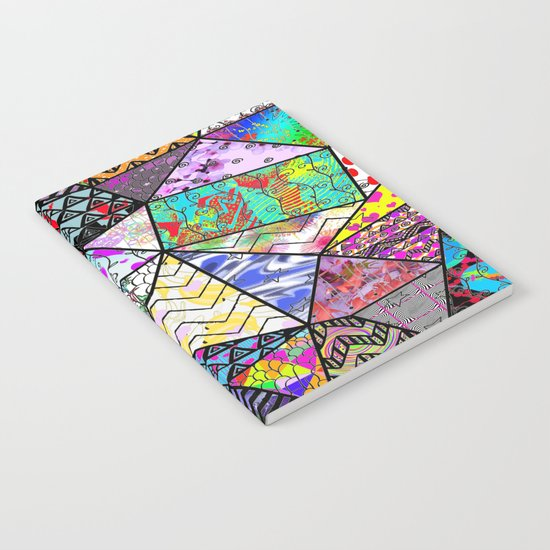 Triangler shaped mix up  Notebook
