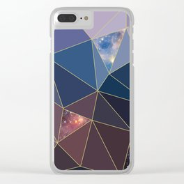 Solar System Exposed Clear iPhone Case