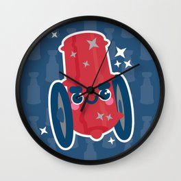 Oh Say Can You CBJ Wall Clock