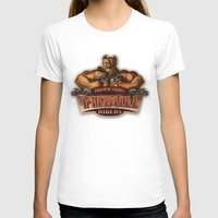 pitbull T-shirts featuring PITBULL RIDERS by gtrullas