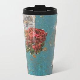 Vintage 3 Metal Travel Mug