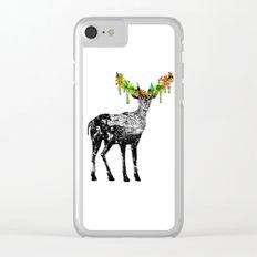 Fallow deer Clear iPhone Case