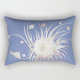 Floral Porcupine Cutie Rectangular Pillow