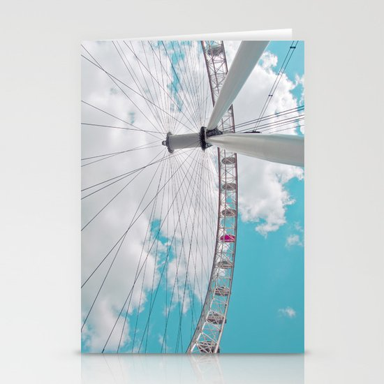eye in the sky... Stationery Cards