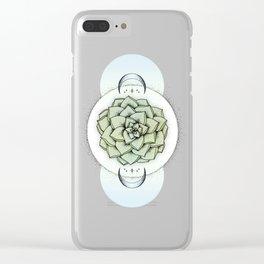 Sempervivum Clear iPhone Case