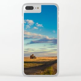 Grain Elevator 15 Clear iPhone Case