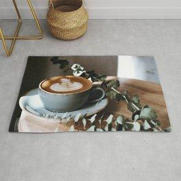 Latte Art V Rug
