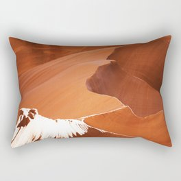 Antelope Canyon Rectangular Pillow