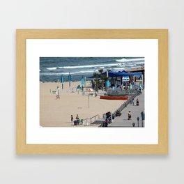 Grommet Park Framed Art Print