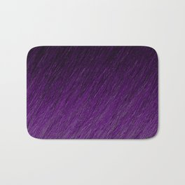 Funky Dark Purple Bath Mat