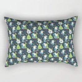 Christmas Winter Pattern Rectangular Pillow