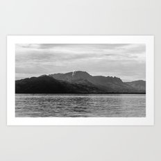 The Sleeping Giant Art Print