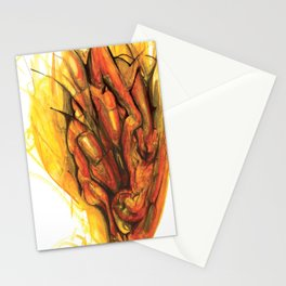 Bleeding Giraffe Heart Stationery Cards